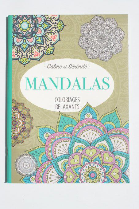Coloriages relaxant Mandalas